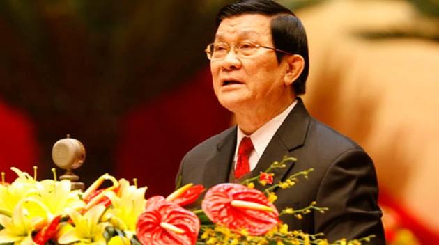 Chủ tịch nước Trương Tấn Sang - Ảnh tư liệu Tuổi Trẻ