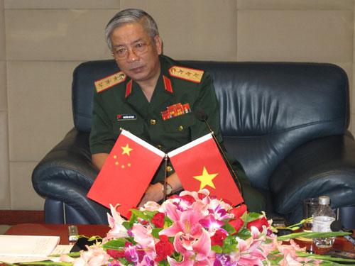 Thượng tướng Nguyễn Chí Vịnh 2