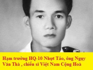 Hạm trưởng HQ-10 Nhựt Tảo, ông Ngụy Văn Thà