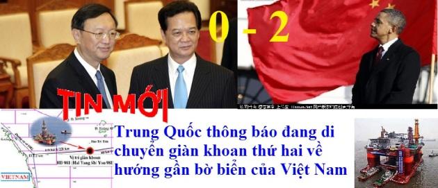 Yang Jiechi, Nguyen Tan Dung